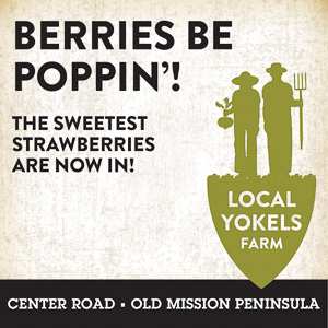 Local Yokels Ad 2021; Berries Be Poppin'