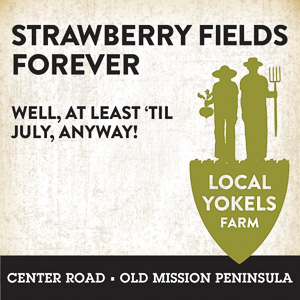 Local Yokels Ad 2021; Strawberry Fields Forever