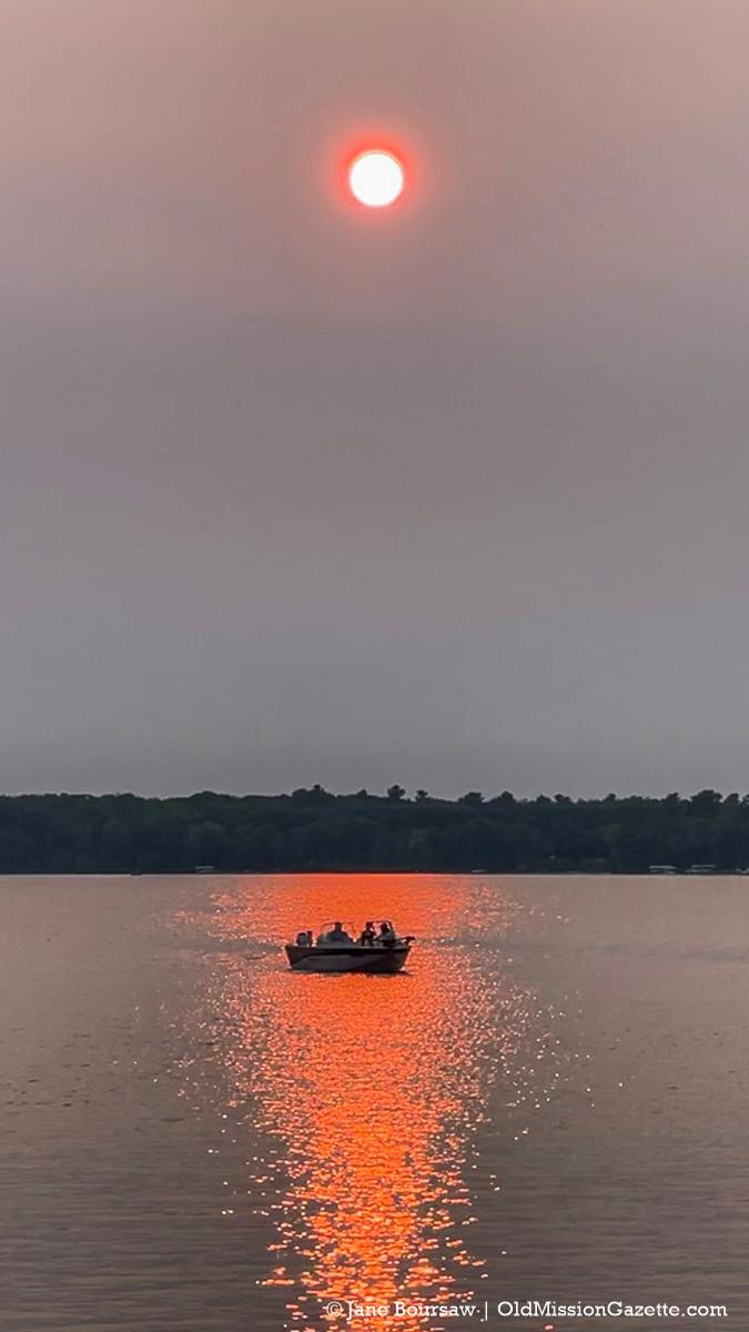 Bowers Harbor Sunset   Jane Boursaw Photo