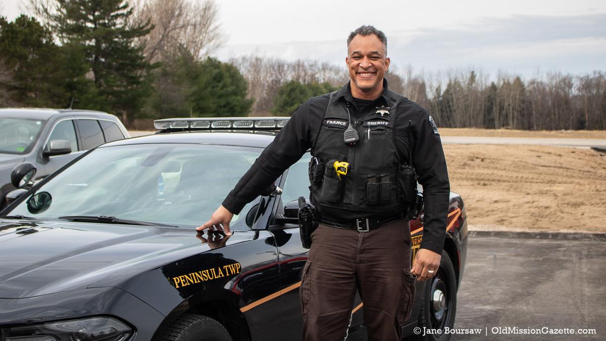 Peninsula Township Deputy Virnell France | Jane Boursaw Photo
