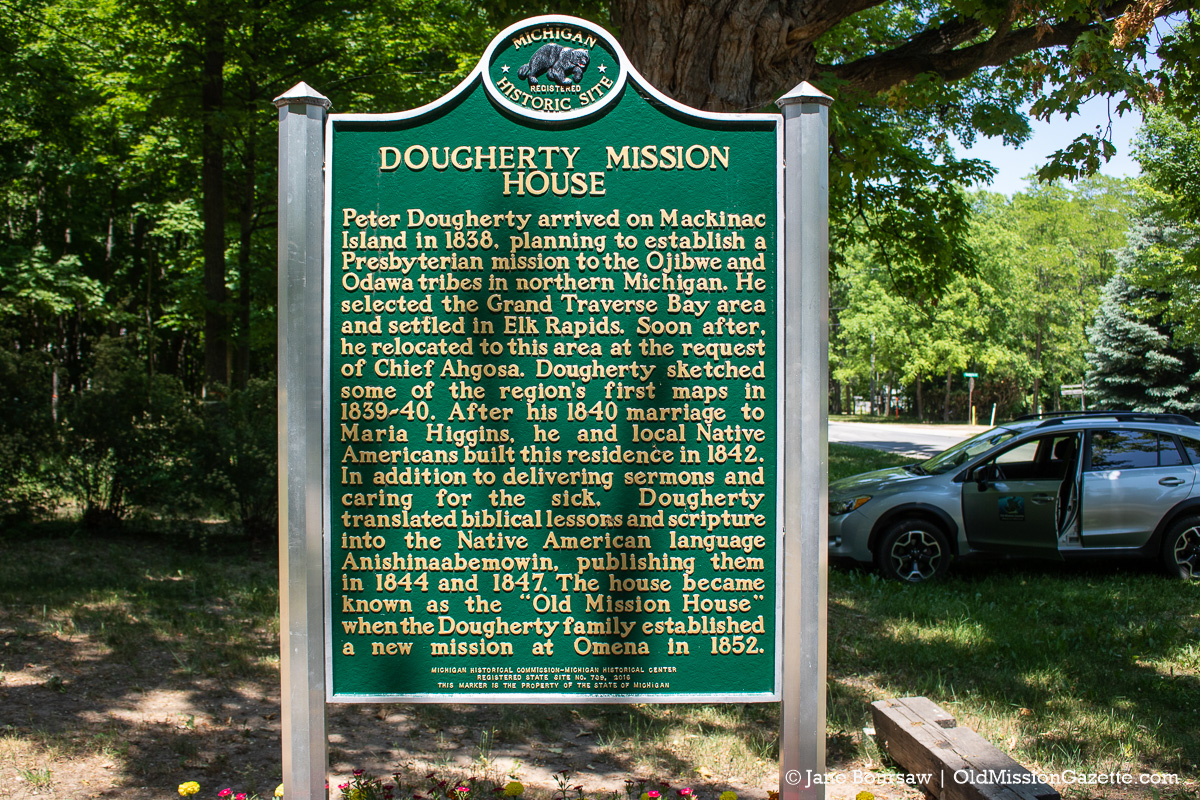 Historic Dougherty House in Old Mission, Michigan | Jane Boursaw Photo
