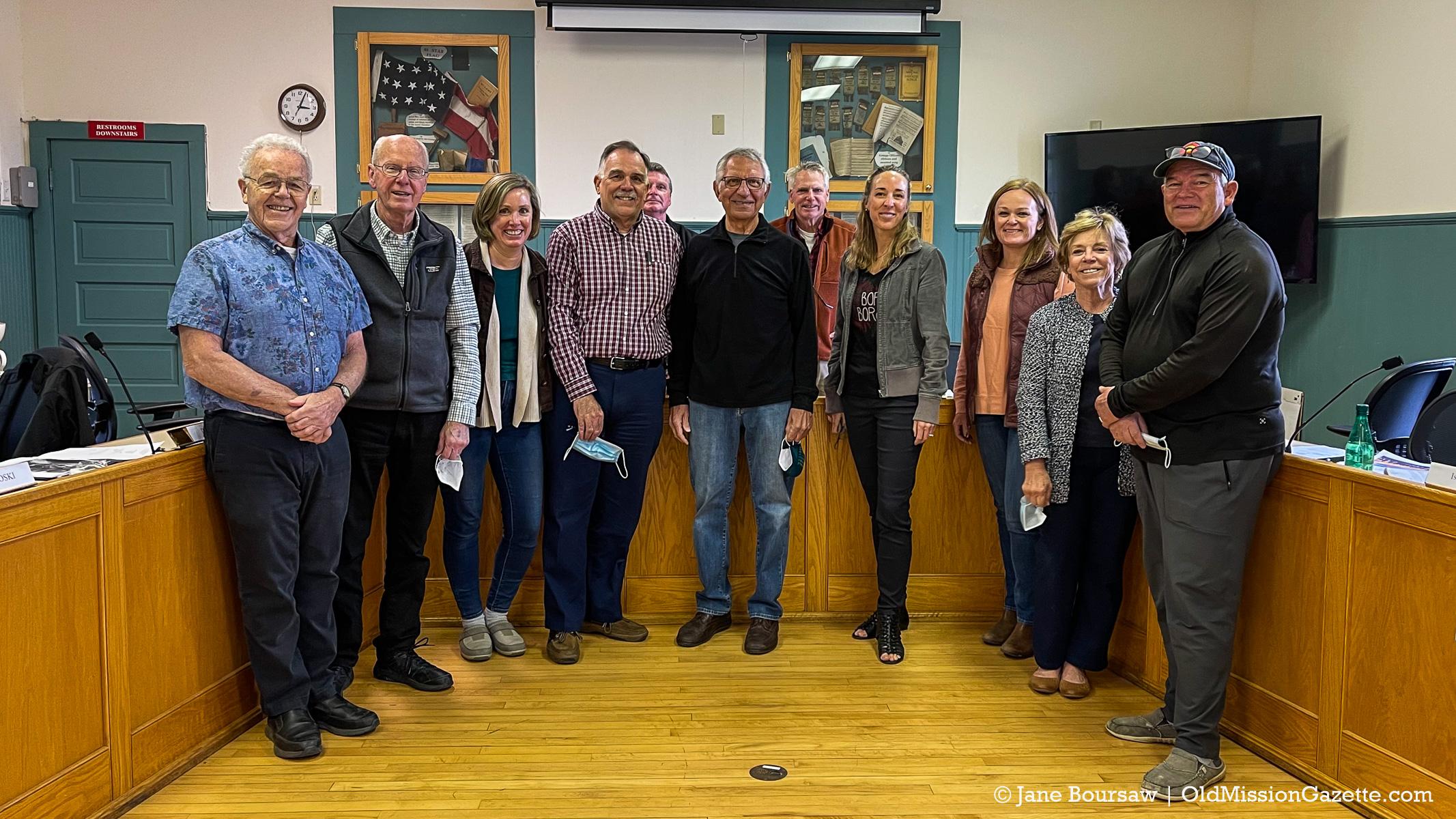 Peninsula Township Master Plan Committee | Jane Boursaw Photo