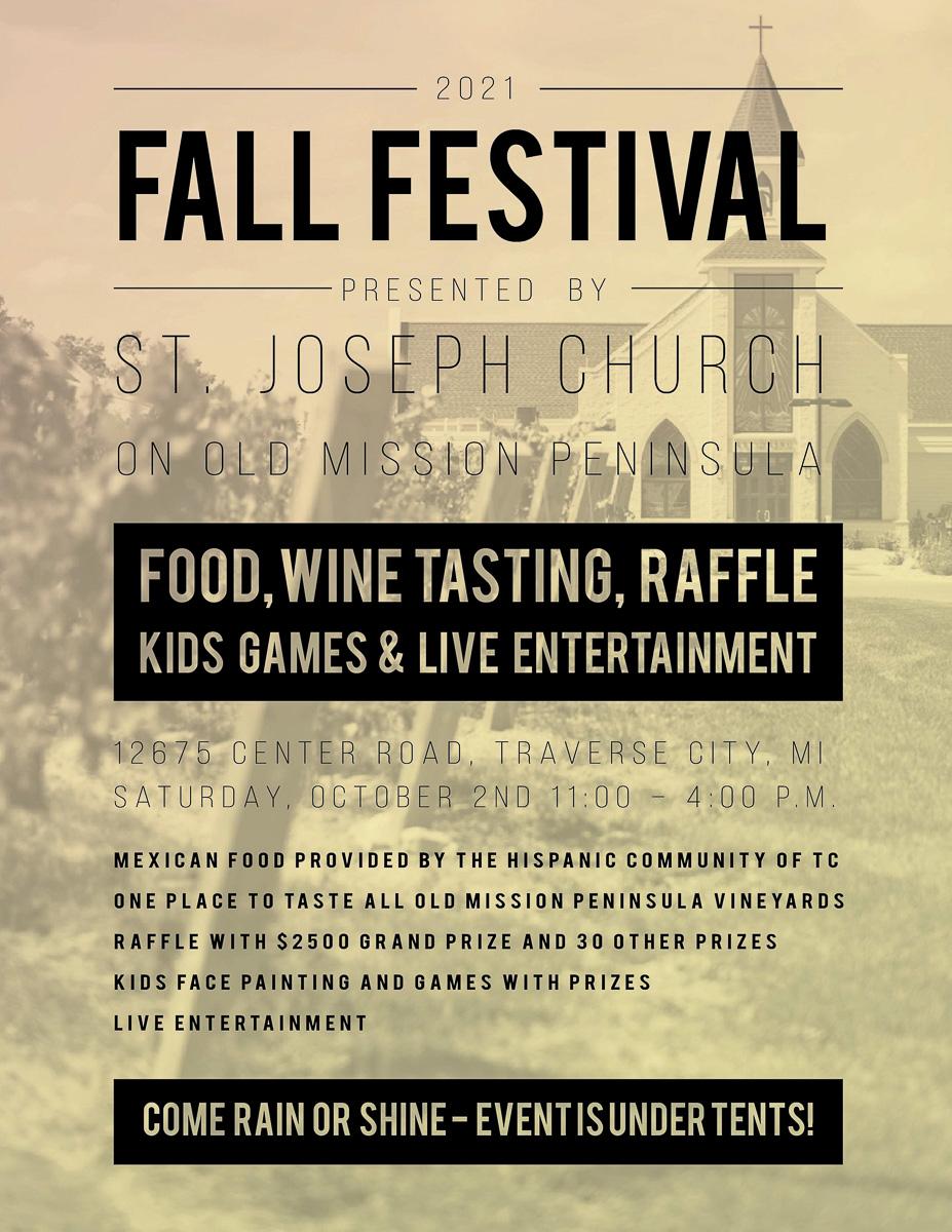 Fall Festival at St. Joseph Catholic Church on the Old Mission Peninsula | St. Joseph Graphic