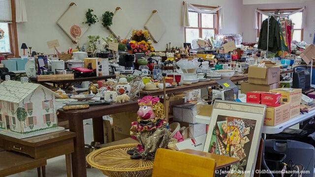 St. Joseph Catholic Church Treasure Sale | Jane Boursaw Photo