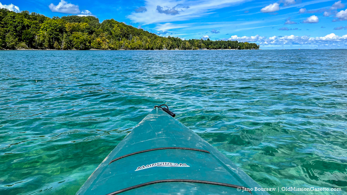 Jane's World Pic from the Kayak in East Bay | Jane Boursaw Photo