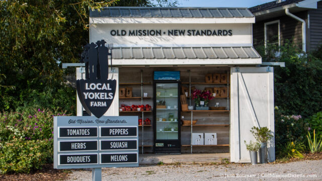Local Yokels Farm Stand on Center Road on the Old Mission Peninsula | Jane Boursaw Photo