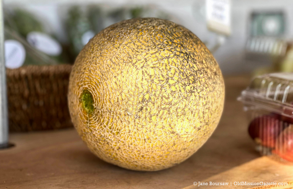 Melon at Local Yokels Farm Stand on the Old Mission Peninsula | Jane Boursaw Photo