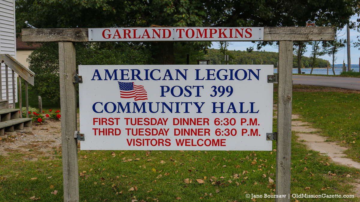 Old Mission Legion Dinners | Jane Boursaw Photo