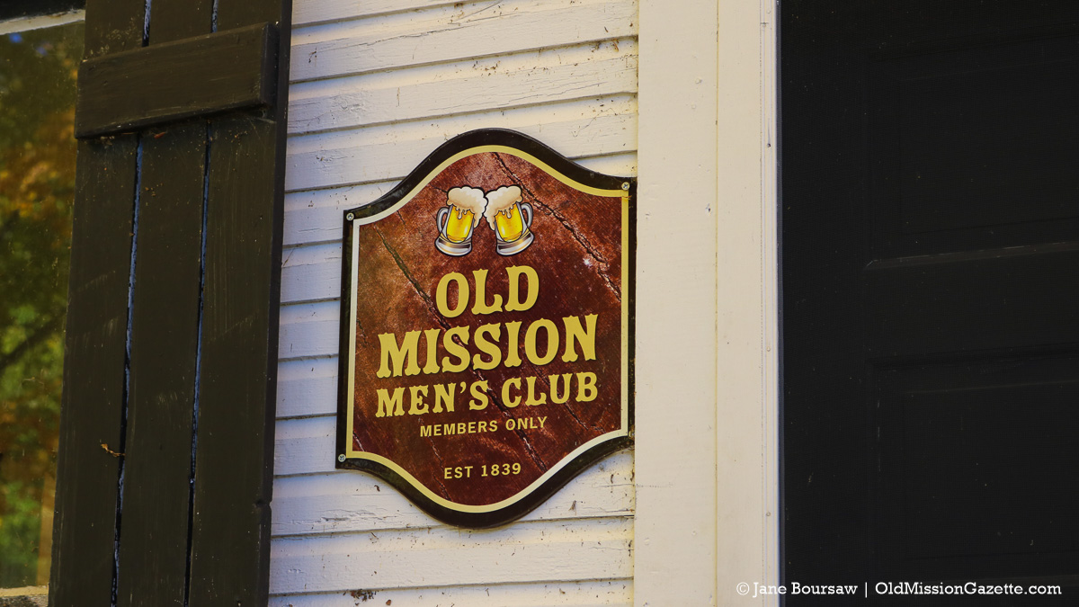 Old Mission Men's Club in Old Mission, Michigan | Jane Boursaw Photo