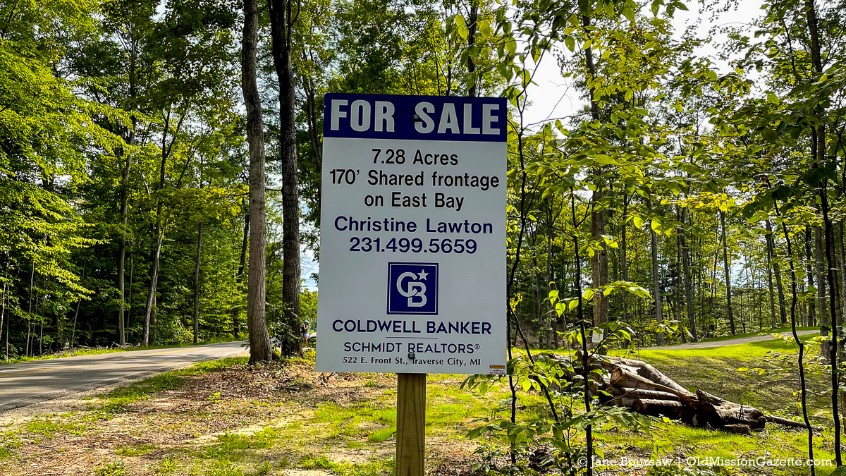 Smokey Hollow Road property for sale on the Old Mission Peninsula | Jane Boursaw Photo