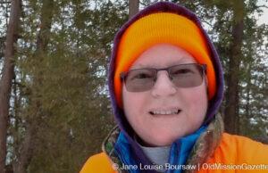 Yours Truly in Orange Hiking Gear | Jane Boursaw Photo
